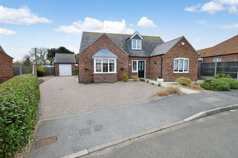 3 Bedrooms Detached Bungalow for sale in 20 Mill Close, Roughton Moor