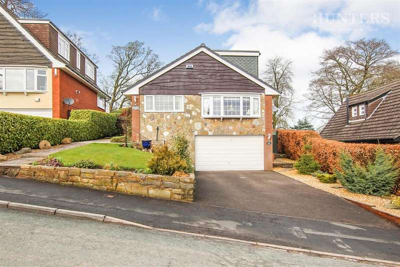 3 Bedrooms Detached House for sale in Hazelwood Road, Endon, Stoke-on-Trent, ST9 9DA