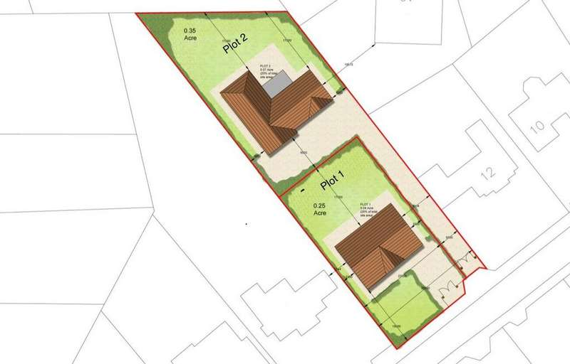 Plot Commercial for sale in 14 Middle Drive, Darras Hall, Ponteland, Newcastle upon Tyne, NE20