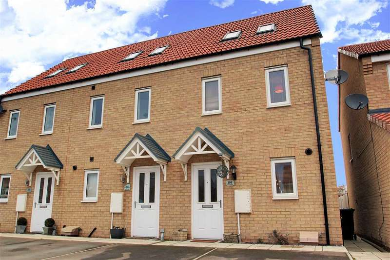 3 Bedrooms Terraced House for sale in Ferrous Way, North Hykeham, Lincoln
