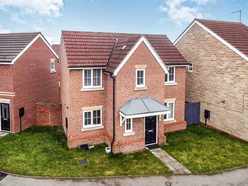 3 Bedrooms Detached House for sale in Appleby Way, Lincoln