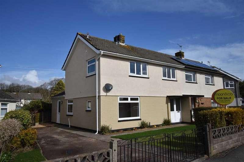 3 Bedrooms Semi Detached House for sale in Crossway, Rogiet, Caldicot