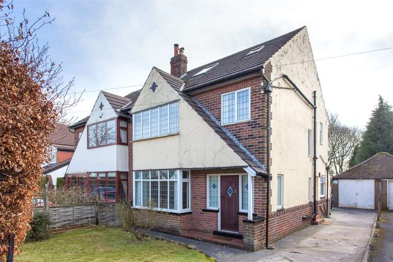 5 Bedrooms Semi Detached House for sale in Alwoodley Lane, Leeds, West Yorkshire, LS17