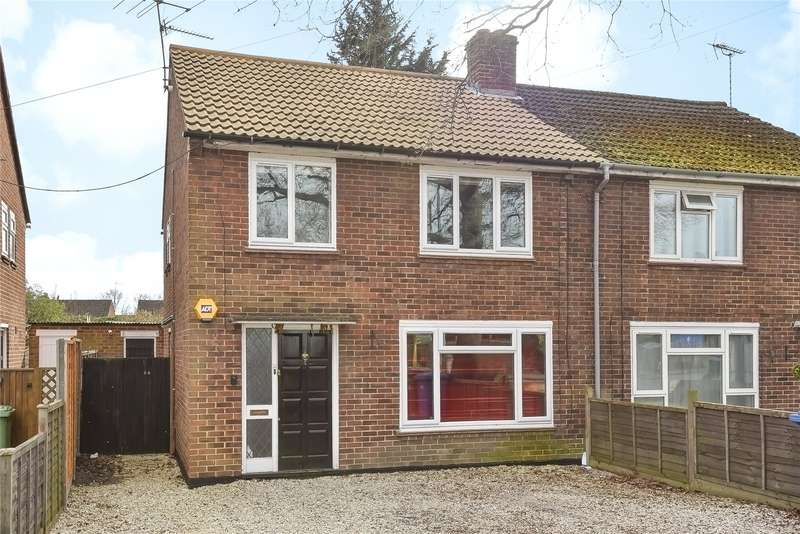 3 Bedrooms Semi Detached House for sale in Yorktown Road, Sandhurst, Berkshire, GU47