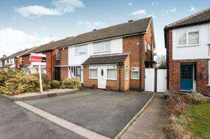 3 Bedrooms Semi Detached House for sale in Ennersdale Road, Coleshill, Birmingham, Warwickshire