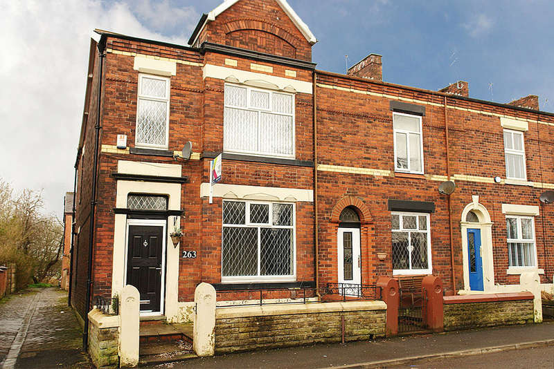 3 Bedrooms End Of Terrace House for sale in Rochdale Road, Royton, Oldham