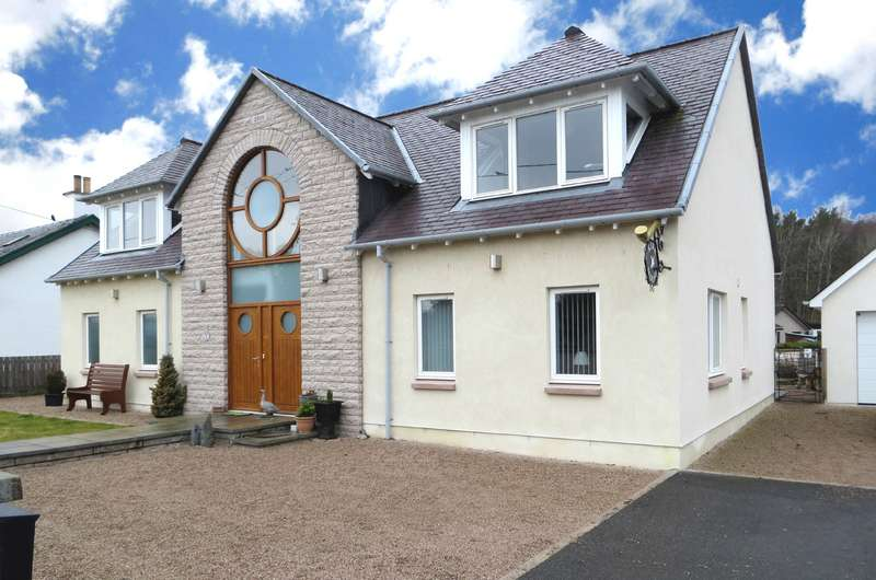 3 Bedrooms Detached House for sale in Newtonmore, PH20 1ED
