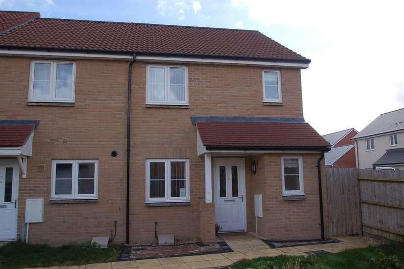 3 Bedrooms End Of Terrace House for sale in Belmont Court, Stockmoor, Bridgwater