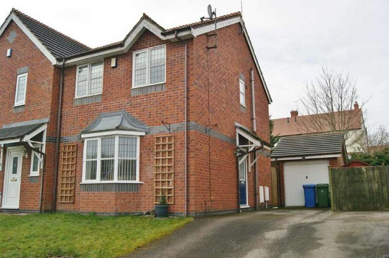 3 Bedrooms Semi Detached House for sale in Blackbrook Drive, Ruabon