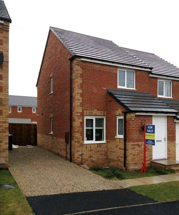 2 Bedrooms Semi Detached House for sale in HENDERSON AVENUE, WHEATLEY HILL, PETERLEE AREA VILLAGES