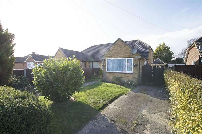 3 Bedrooms Semi Detached Bungalow for sale in Cottes Way, Hill Head, Hampshire