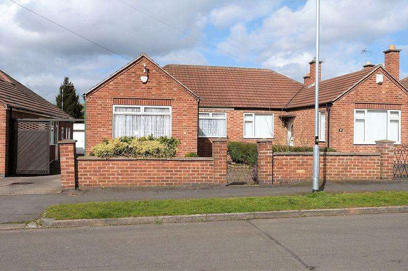 2 Bedrooms Semi Detached Bungalow for sale in Festival Avenue, Thurmaston