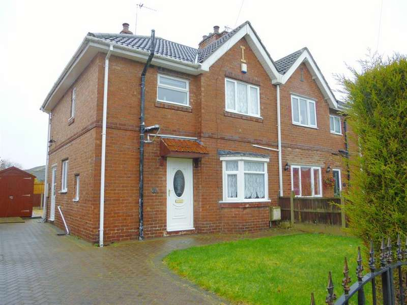3 Bedrooms Semi Detached House for sale in Essex Drive, Bircotes, DN11 7BH