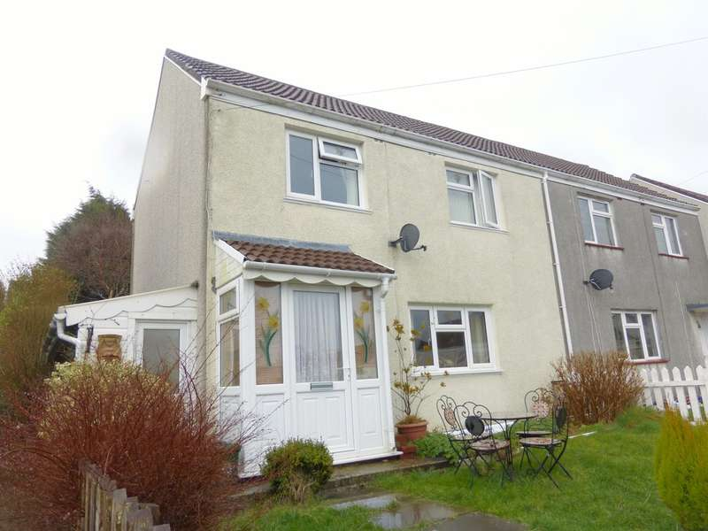 2 Bedrooms Semi Detached House for sale in Caeconna Road, Portmead, Swansea