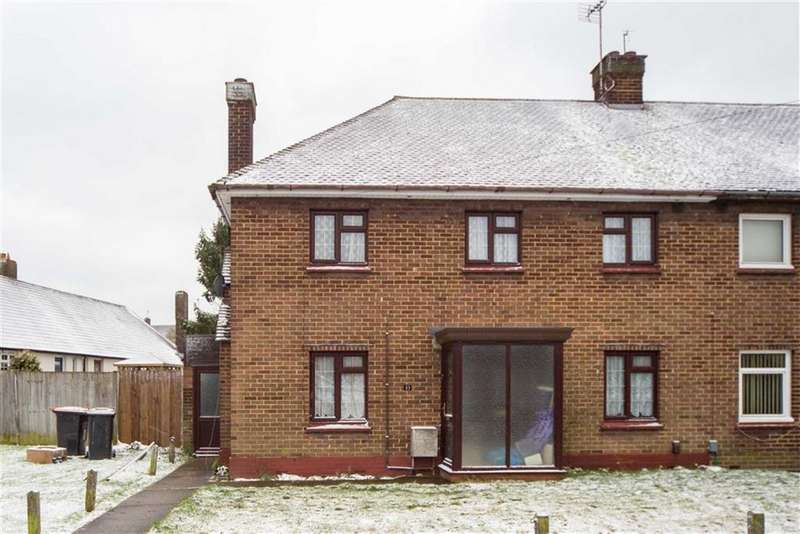 4 Bedrooms Semi Detached House for sale in Croft Green, Dunstable, Bedfordshire, LU6