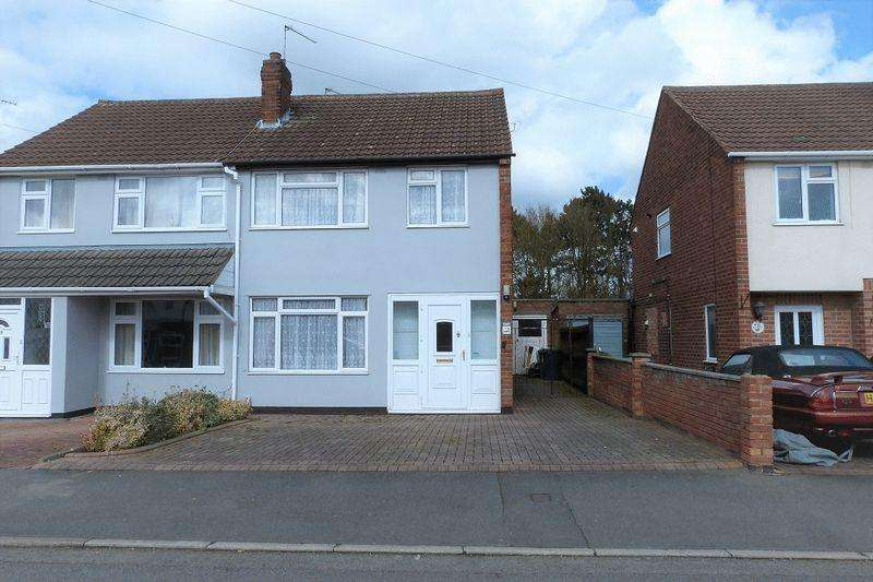 3 Bedrooms Semi Detached House for sale in Church Hill Road, Thurmaston