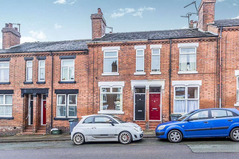 3 Bedrooms Terraced House for sale in Dominic Street, Penkhull, Stoke-On-Trent, ST4
