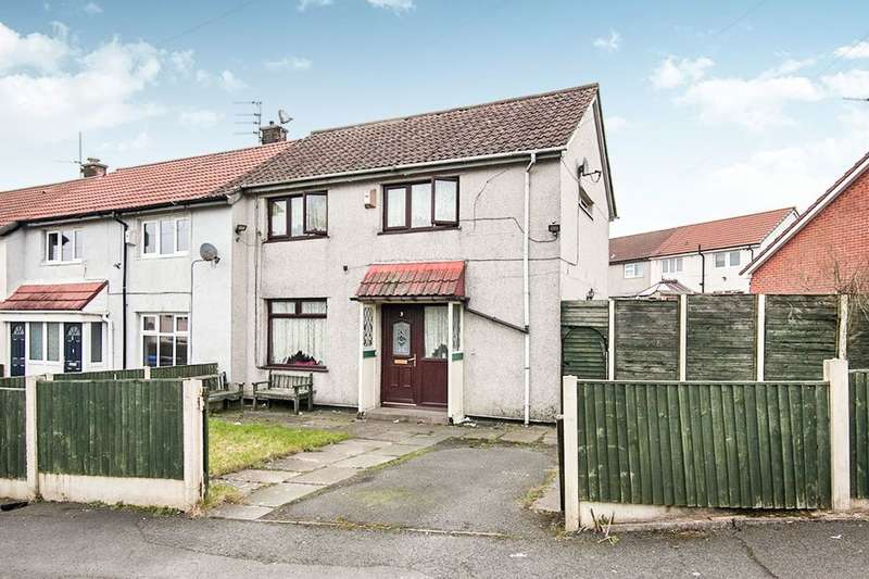 3 Bedrooms Semi Detached House for sale in Ashburton Close, Hyde, SK14