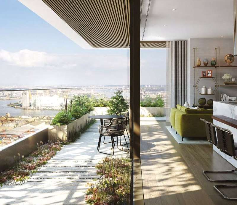 2 Bedrooms House for sale in The Wardian, East Tower, Canary Wharf, London, E14