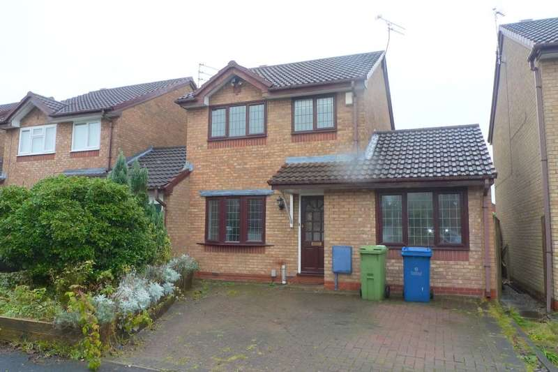 3 Bedrooms Detached House for rent in Melbourne Crescent, Stafford, ST16