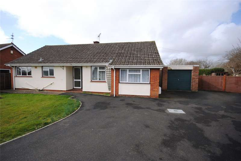 4 Bedrooms Detached Bungalow for sale in Kendall Close, Creech Heathfield, Taunton, Somerset, TA3