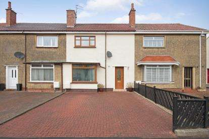2 Bedrooms Terraced House for sale in James Campbell Road, Ayr