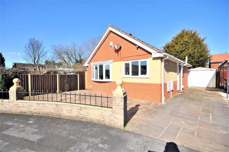 2 Bedrooms Detached Bungalow for sale in Ribble View Close, Warton, Preston, Lancashire, PR4 1LD