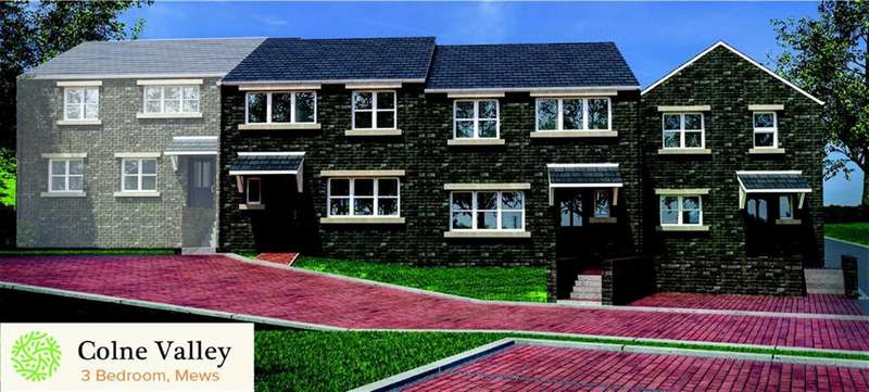3 Bedrooms Town House for sale in Green Bank View, Linthwaite, Huddersfield