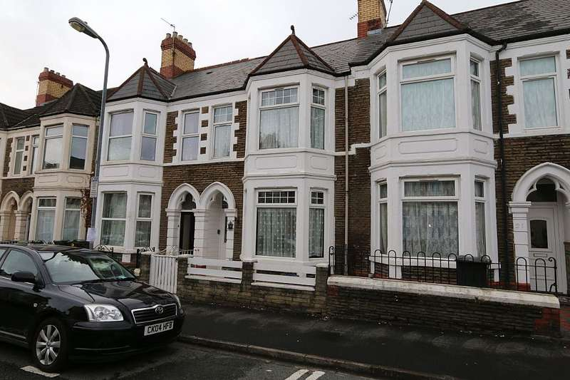 5 Bedrooms Terraced House for sale in Malefant Street, Cardiff, Caerdydd, CF24 4QB