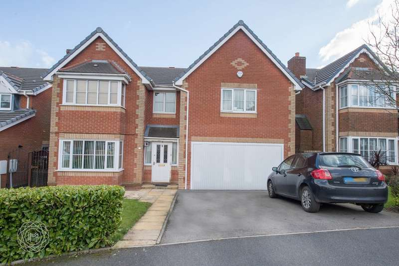 5 Bedrooms Detached House for sale in Chadbury Close, Lostock, Bolton, BL6