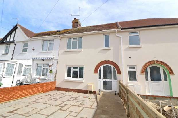 3 Bedrooms Terraced House for sale in Ecmod Road, Eastbourne, BN22
