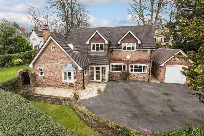 3 Bedrooms Detached House for sale in South Bank Close, Alderley Edge