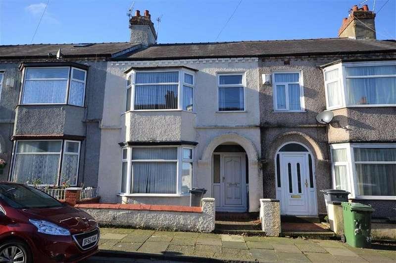 3 Bedrooms Terraced House for sale in Fieldside Road, CH42