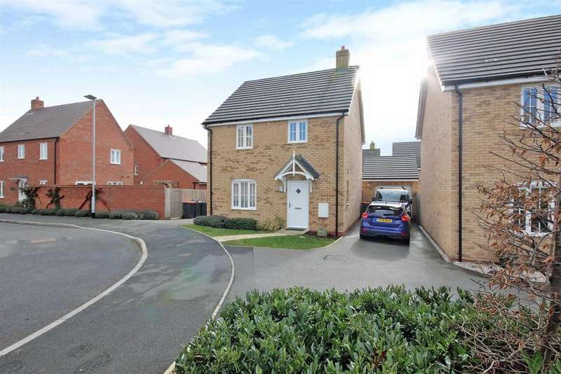 3 Bedrooms Detached House for sale in Primrose Fields, Bedford