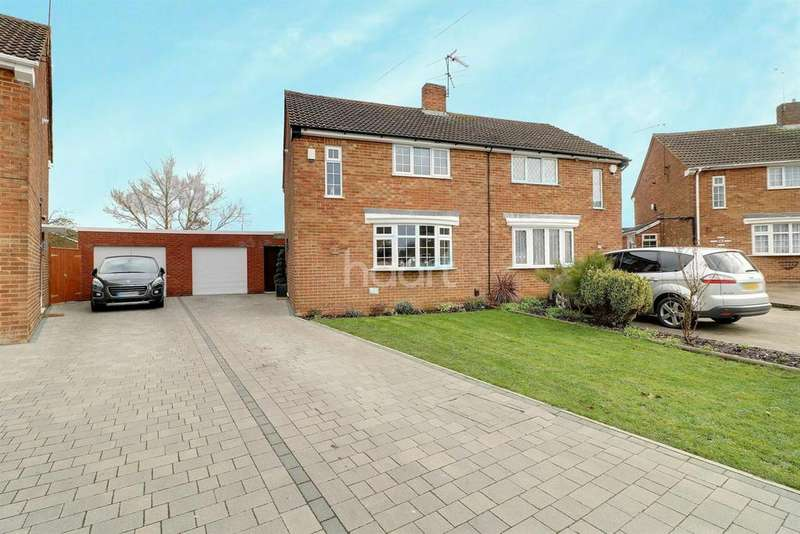 3 Bedrooms Semi Detached House for sale in Elegantly Practical In Stopsley