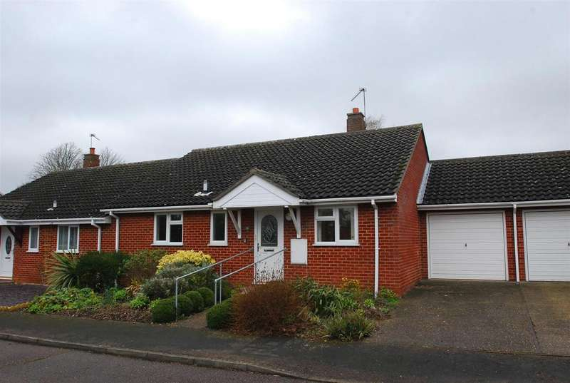 2 Bedrooms Semi Detached Bungalow for sale in Aylmer Close, Risby, Bury St. Edmunds