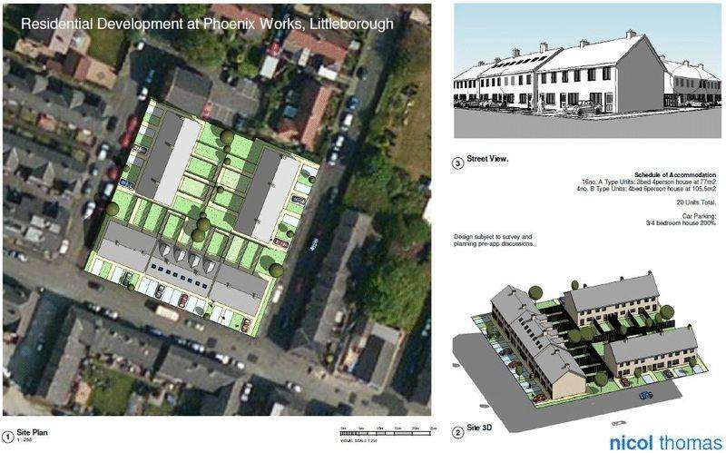 Land Commercial for sale in Phoenix Iron Works Site, Howarth Street, Littleborough, Rochdale, OL15 9DW