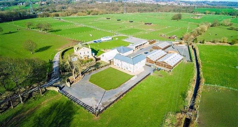 11 Bedrooms Equestrian Facility Character Property for sale in Rodley Fold Farm, Bridge Road, Rodley, Leeds LS13