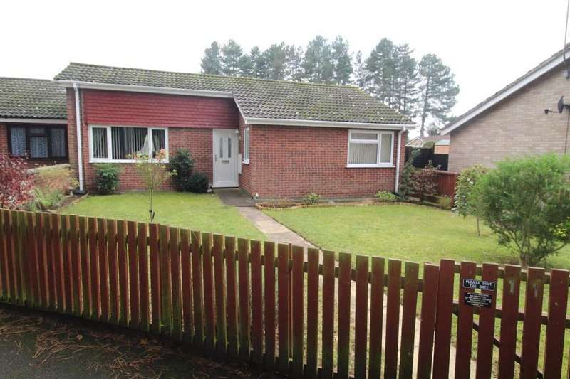 3 Bedrooms Semi Detached Bungalow for sale in Rowan Walk, Mildenhall, Bury St. Edmunds