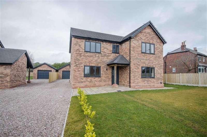 4 Bedrooms Detached House for sale in Hugmore Lane, Llan-y-Pwll, Wrexham, Llan-y-Pwll