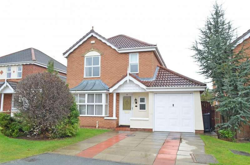 4 Bedrooms Detached House for rent in 44 Strawberry Fields, Great Boughton, Chester