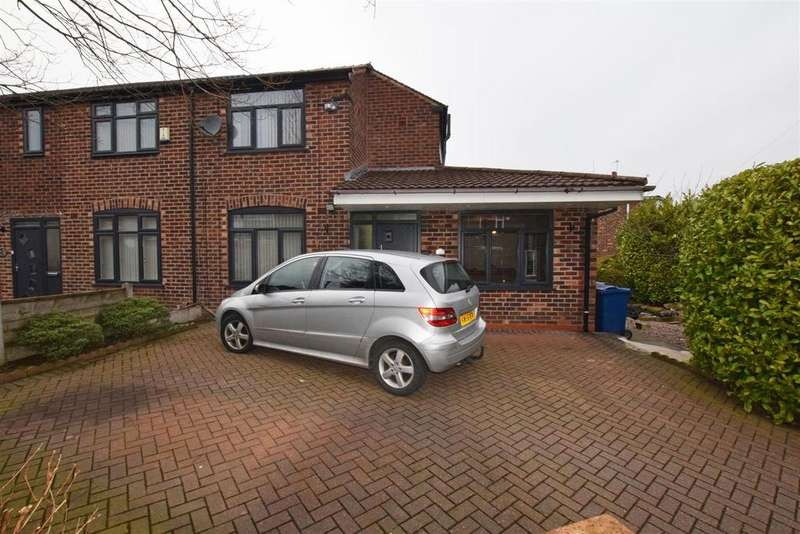 3 Bedrooms Semi Detached House for sale in Windsor Crescent, Prestwich, Manchester