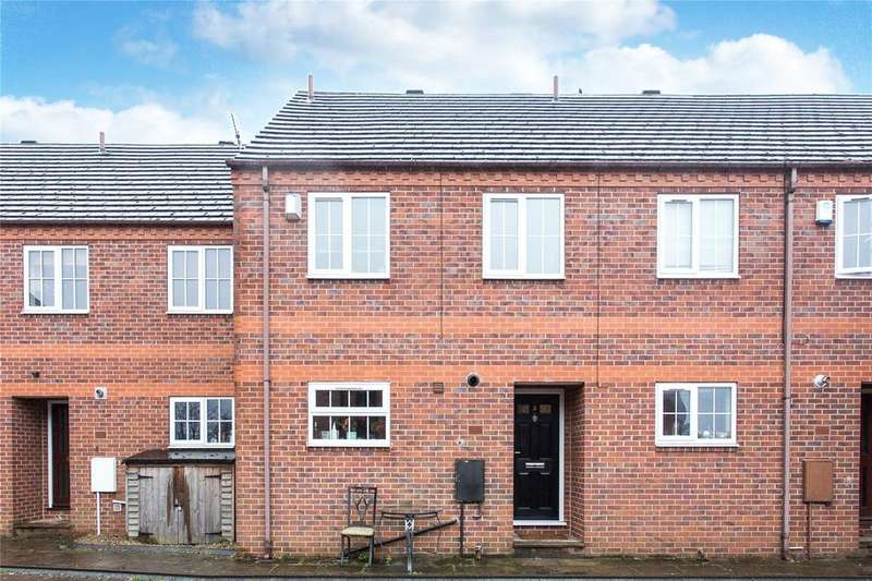 3 Bedrooms Terraced House for sale in Melbourne Court, Melbourne Street, York, North Yorkshire, YO10