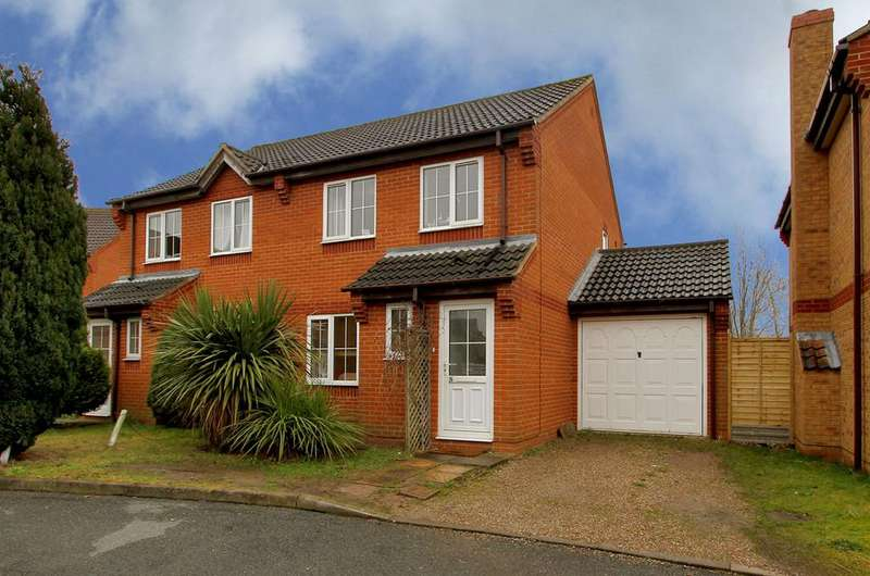 3 Bedrooms Semi Detached House for sale in Buttercup Way, Three Score
