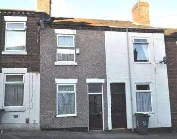 3 Bedrooms Terraced House for sale in Boughey Street , Stoke, Stoke on Trent, ST4 5RN