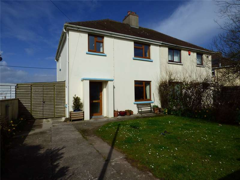3 Bedrooms Semi Detached House for sale in River View, Hundleton, Pembroke
