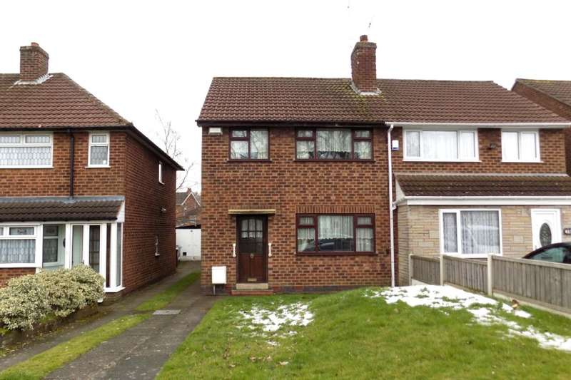 3 Bedrooms Semi Detached House for sale in Bordesley Green East, Stechford, Birmingham, B33
