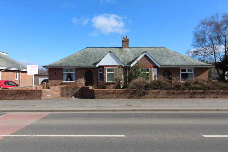 2 Bedrooms Semi Detached Bungalow for sale in Kilmarnock Road, Mauchline, KA5