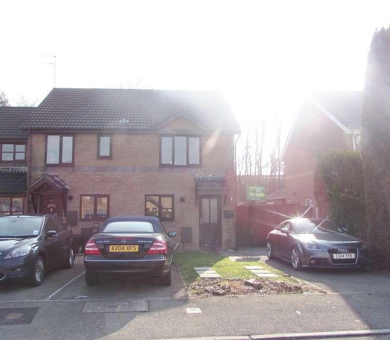 2 Bedrooms Semi Detached House for sale in Heol Ewenny , Pencoed, Bridgend. CF35 5QA