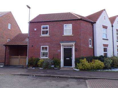 3 Bedrooms Semi Detached House for sale in Pickwell Drive, Syston, Leicester, Leicestershire